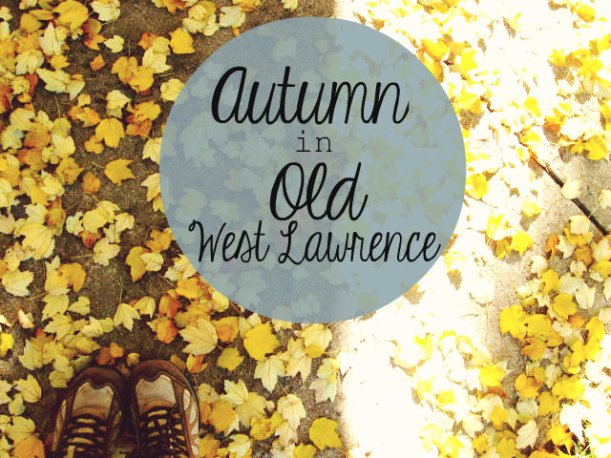 autumn in old west lawrence
